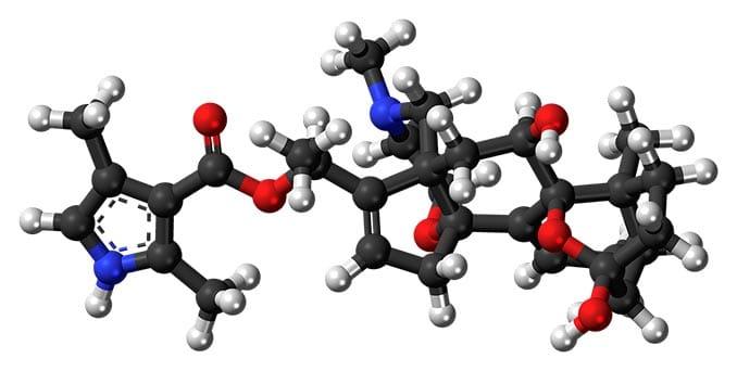 Das Gift der Frösche Batrachotoxin